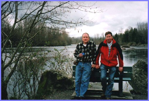 Vedder River — Elmer Wiens and Mel Martens (March 20, 2008)