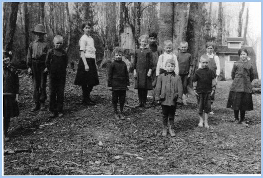 Vedder River School Students - 1915