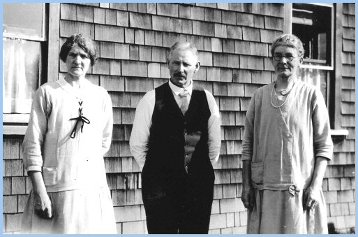 Rosa Martin, Jack Martin, and Mrs Simmons