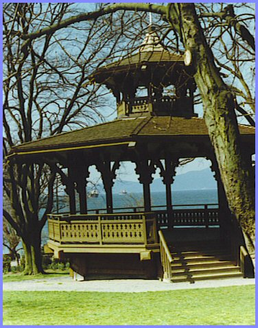 English Bay - Gazebo