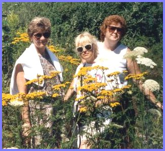 Yarrow Flowers and Yarrow Girls