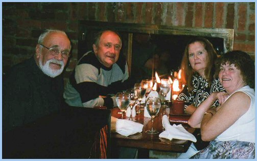 Ken White, Elmer Wiens, Pat Gillis, Sue White (October 1, 2008)